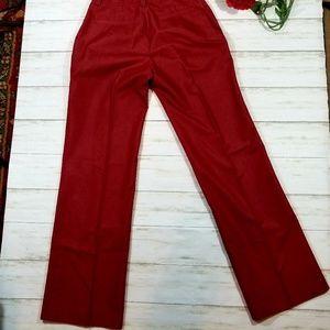 Banana Republic Pants - Banana Republic Red Slacks Size 0